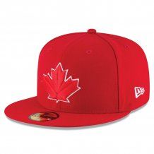 Toronto Blue Jays - Authentic On-Field Scarlet 59Fifty MLB Hat