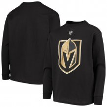 Vegas Golden Knights Youth - Primary Logo NHL Long Sleeve T-Shirt