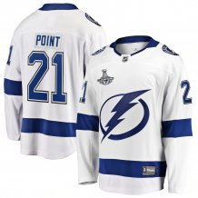 Tampa Bay Lightning - Brayden Point 2020 Stanley Cup Champions NHL Jersey