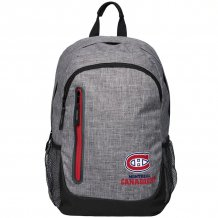 Montreal Canadiens -Heathered Gray NHL  Backpack