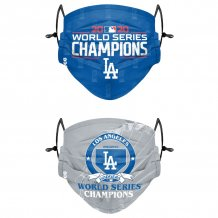 Los Angeles Dodgers - 2020 World Champions 2-pack MLB face mask