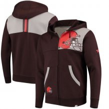 Cleveland Browns - Iconic Bold Full-Zip NFL Hoodie