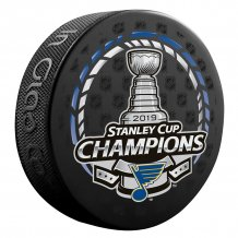 St. Louis Blues - 2019 Stanley Cup Champions Logo NHL Puck