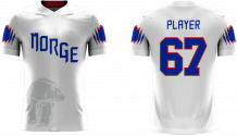 Norway - 2018 Sublimated Fan T-Shirt with Name and Number