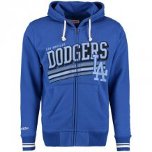 Los Angeles Dodgers - Race to the Finish Full-Zip MLB Mikina s kapucňou
