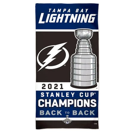 Tampa Bay Lightning - 2021 Stanley Cup Champs NHL Towel