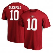 San Francisco 49ers - Jimmy Garoppolo Authentic Stack NFL T-Shirt