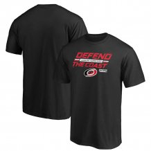 Carolina Hurricanes - 2020 Stanley Cup Playoffs Tilted Ice NHL T-Shirt