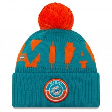 Miami Dolphins - 2020 Sideline Home NFL Knit hat
