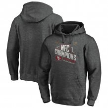 San Francisco 49ers - 2019 NFC Champions Trophy Collection NFL Hoodie