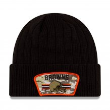 Cleveland Browns - 2021 Salute To Service NFL Knit hat