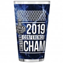 St. Louis Blues - 2019 Western Conference Champs 0.47L NHL Glass