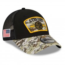 Pittsburgh Steelers - 2021 Salute To Service 9Forty NFL Czapka