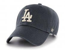 Los Angeles Dodgers - Clean Up Gray MLB Hat