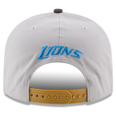 Detroit Lions - Gold Collection 9fifty NFL Hat - Size: adjustable