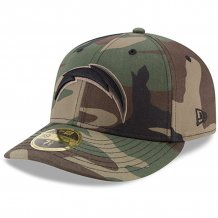 Los Angeles Chargers - Woodland Camo 59FIFTY NFL Hat