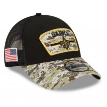 New Orleans Saints - 2021 Salute To Service 9Forty NFL Cap