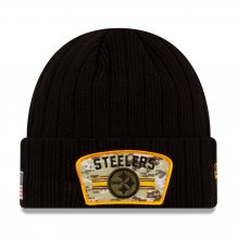Pittsburgh Steelers - 2021 Salute To Service NFL Knit hat