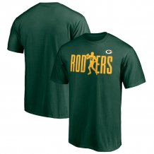 Green Bay Packers - Aaron Rodgers Checkdown NFL T-Shirt