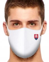 Sport Protective face mask Slovakia All White / volume discount