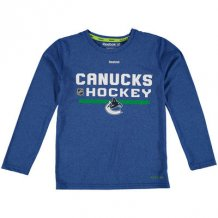 Vancouver Canucks Youth - Authentic Freeze PlayDry NHL Long Sleeve T-Shirt
