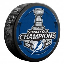 Tampa Bay Lightning - 2020 Stanley Cup Champions Authentic NHL krążek