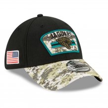 Jacksonville Jaguars - 2021 Salute To Service 39Thirty NFL Hat