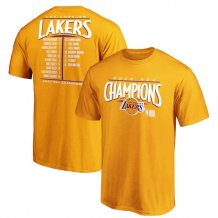 Los Angeles Lakers - 2020 Finals Champions Roster NBA T-Shirt