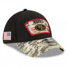 San Francisco 49ers - 2021 Salute To Service 39Thirty NFL Cap