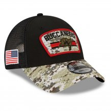 Tampa Bay Buccaneers - 2021 Salute To Service 9Forty NFL Hat