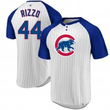 Chicago Cubs - Anthony Rizzo Everything in Order Pinstripe MLB T-shirt
