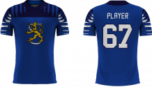 Finland - 2018 Sublimated Fan T-Shirt with Name and Number