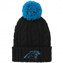 Carolina Panthers Youth - Cable Cuffed NFL Knit Hat