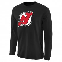 New Jersey Devils - Primary Logo NHL Long Sleeve T-Shirt