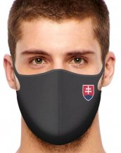 Sport Protective face mask Slovakia All Black / volume discount