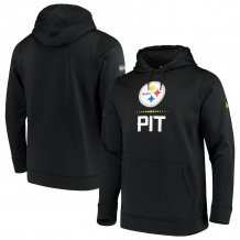 Pittsburgh Steelers - Under Armour Combine Authentic NFL Hoodie