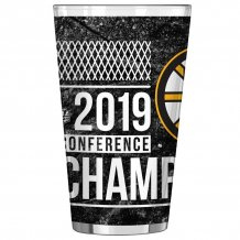 Boston Bruins - 2019 Eastern Conference Champs 0.47L NHL Glass