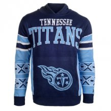 Tennessee Titans - Big Logo Ugly Sweater NFL Hoodie