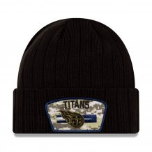 Tennessee Titans - 2021 Salute To Service NFL Knit hat
