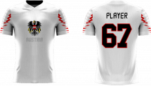 Austria - 2018 Sublimated Fan T-Shirt with Name and Number