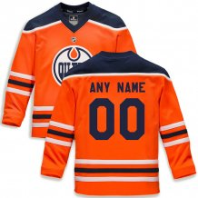 Edmonton Oilers Youth - Replica Home NHL Jersey/Customized