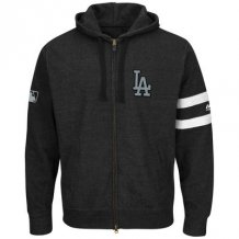 Los Angeles Dodgers - Clubhouse Fashion Full-Zip MLB Mikina s kapucňou