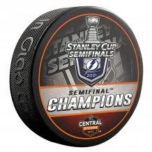 Tampa Bay Lightning - 2021 Stanley Cup Semifinal Champs NHL Puck