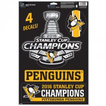 Pittsburgh Penguins - 2016 Stanley Cup Champions NHL nálepky