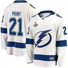 Tampa Bay Lightning - Brayden Point 2021 Stanley Cup Champions Road NHL Dres