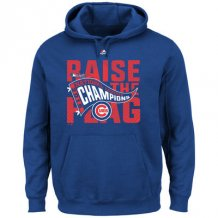 Chicago Cubs - 2016 National League Champions Locker Room MLB Hoodie