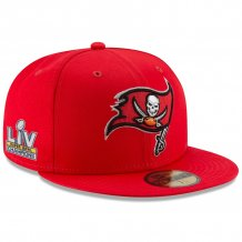 Tampa Bay Buccaneers - Super Bowl LV Champs Patch 59FIFTY NFL Hat