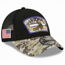 Minnesota Vikings - 2021 Salute To Service 9Forty NFL Hat