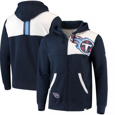 Tennessee Titans - Iconic Bold Full-Zip NFL Mikina s kapucí - Velikost: S/USA=M/EU