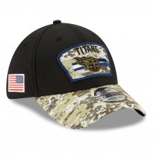 Tennessee Titans - 2021 Salute To Service 39Thirty NFL Hat